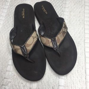 5 for $25! Coach sandals!